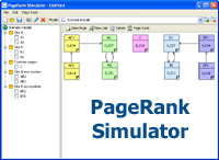 PageRank Simulator