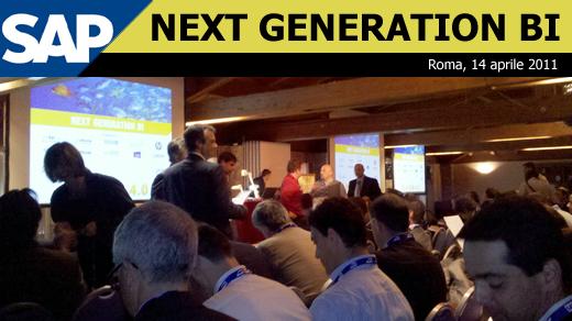 Next Generation BI @ Roma