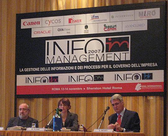InfoBI 2007 Roma